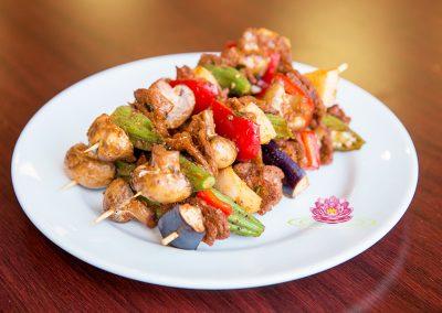 A04. Vegetarian mock grilled beef sausage