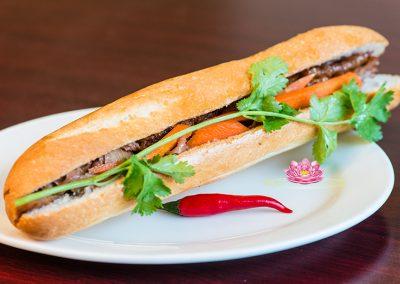 A13. Vietnamese vegetarian bread