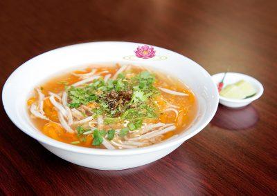 N16. Vietnamese Udon mock crab vermicelli soup